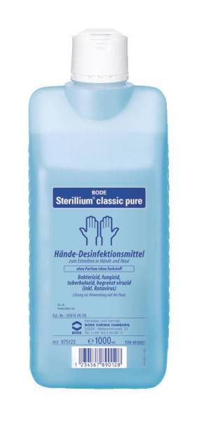 Bode Sterillium classic pure 1000 ml - Saarmed Medizinbedarf GmbH Onlineshop