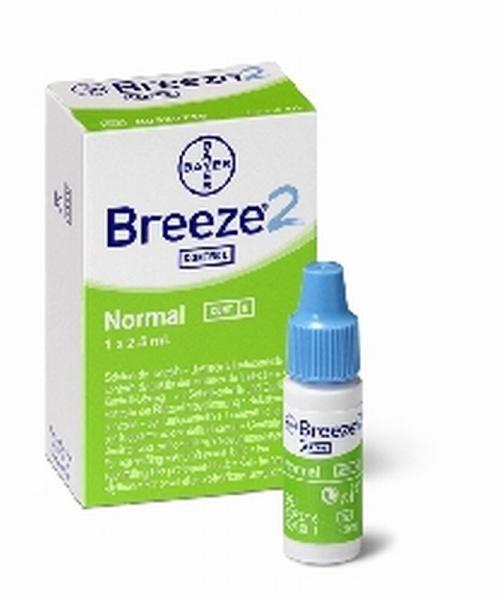 BZ Kontroll-Lösung Ascenzia Breeze 2 - Saarmed Medizinbedarf GmbH Onlineshop