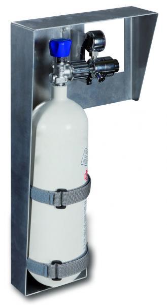 Sauerstofffflaschenhalterung Metall - Saarmed Medizinbedarf GmbH Onlineshop