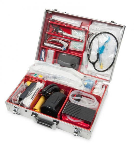 WM Ulmer Koffer I mit Notfallausrüstung - Saarmed Medizinbedarf GmbH Onlineshop