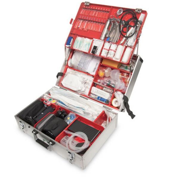 WM Ulmer Koffer III m. Notfallausrüstung - Saarmed Medizinbedarf GmbH Onlineshop