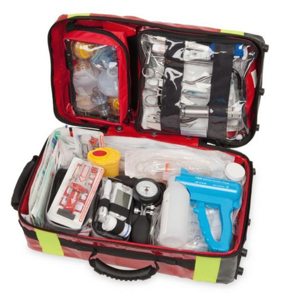 WM Rescue-Pack, rot, m Notfallausrüstung - Saarmed Medizinbedarf GmbH Onlineshop