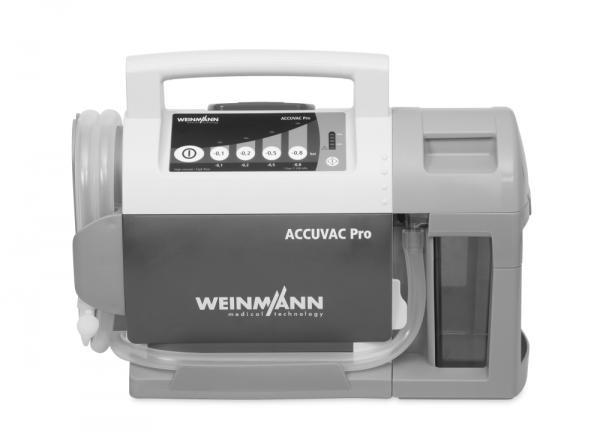 WM Accuvac Pro mit Mehrwegbehältersystem - Saarmed Medizinbedarf GmbH Onlineshop