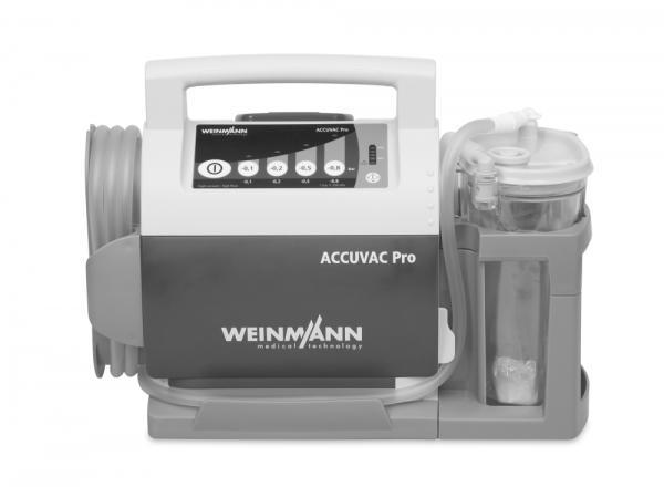 WM Accuvac Pro elektrische Absaugpumpe - Saarmed Medizinbedarf GmbH Onlineshop