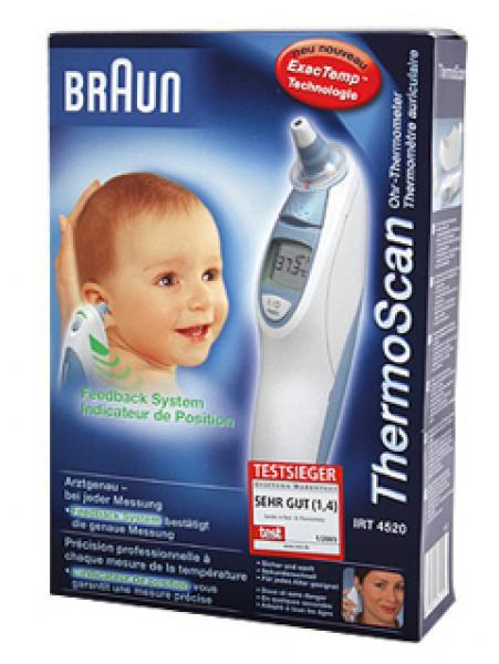 Fieberthermometer Braun Thermoscan 7 - Saarmed Medizinbedarf GmbH Onlineshop