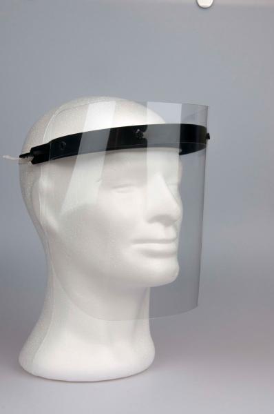 Visiermaske mit drei Visierfolien - Saarmed Medizinbedarf GmbH Onlineshop